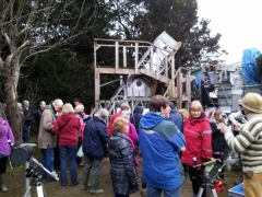 The observatory at Stars & Snowdrops 2015